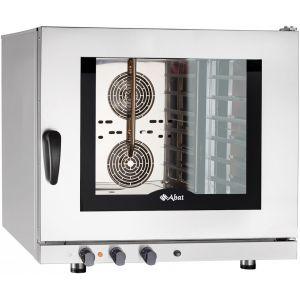 Печь электрическая конвекционная,  6х(600х400мм), управление электромех., корпус нерж.сталь, 380V, увлажнение, модернизированное управ.