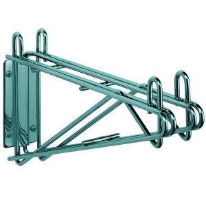 Кронштейн настенный двойной серединный для 2-х полок глубиной 610мм, сталь с покрытием Metroseal3-Microban, для влажных помещений