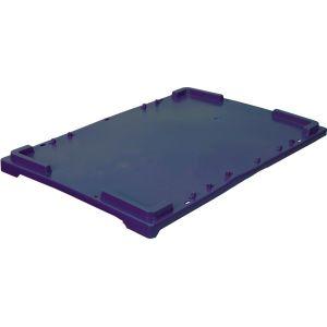 Крышка для ящика L 60см w 40см h 2см, пластик синий