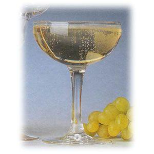 Бокал для шампанского (блюдце) 160мл ELEGANCE