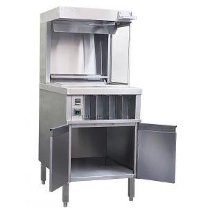 Станция хранения и фасовки картофеля фри, L0.6м, конвекция