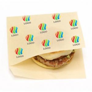 Уголок для гамбургера бумага с ЛОГОТИПОМ