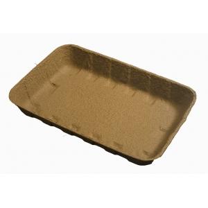 Лоток 240х160х37мм бумага коричневый