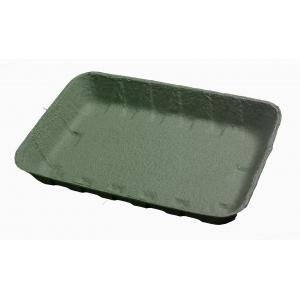 Лоток 240х160х37мм бумага зелёный