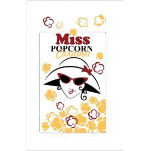 Зерно кукурузы премиальное (сорт карамель) «MISS POPCORN», 22.68 кг.