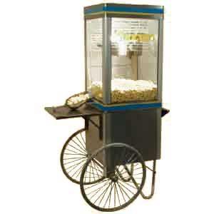 GPC-8 - тележка для попкорн аппарата (б/у (бывший в употреблении))