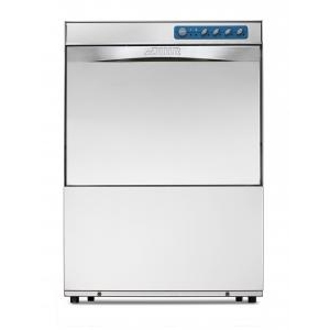 Машина посудомоечная фронтальная, 500х500мм, 30-20кор/ч, теп.вода, доз.опол., D тарелки 345мм, 2 цикла