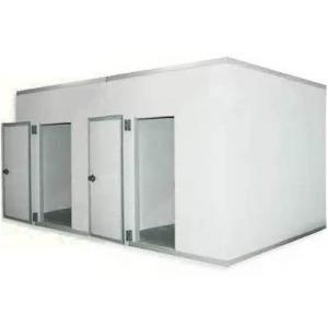 Камера комбинированная из строительных панелей,  26.30м3, h2.20м, 2 двери расп.левые, ППУ80мм, завеса