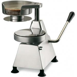 Пресс для формовки гамбургеров и котлет механический настольный, D130мм, нерж.сталь+алюминий