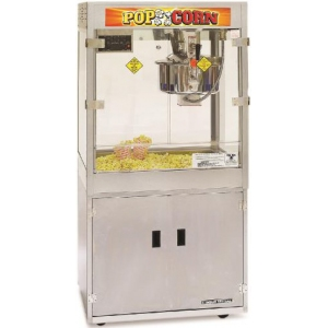 Попкорн аппарат, 32oz, Odyssey, база, переключатель соль/сахар, насос, дисплей температуры
