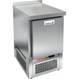 Стол морозильный, GN1/1, L0.56м, борт H50мм, 1 выдв.секция, ножки, -10/-18С, нерж.сталь, дин.охл., агрегат нижний