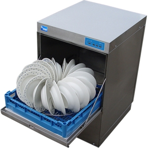 Машина посудомоечная фронтальная, 500х500мм, 540тар/ч, доз.моющ.
