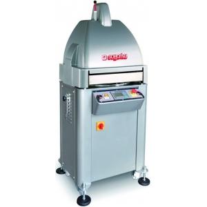 Тестоделитель-округлитель автоматический напольный, загрузка 1.1/4кг, 22 порции (50-180г), сталь окраш., гидравлический поршень, 3 матрицы