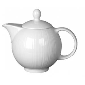 Чайник 795мл D 6см L 19см w 13см h 17см SPYRO цвет белый, фарфор