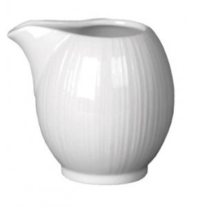Молочник 120мл D 3,3см L 8см w 6см h 7см SPYRO цвет белый, фарфор