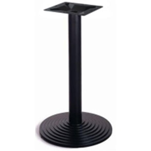 Подстолье металлическое, черное, для столешницы D700мм или 700х700мм