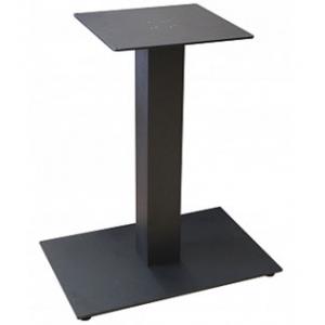 Подстолье металлическое регулируемое, черный шагрень, для столешницы 1200х800мм