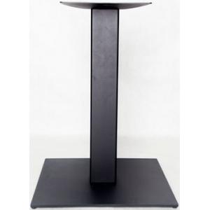 Подстолье металлическое регулируемое, черный шагрень