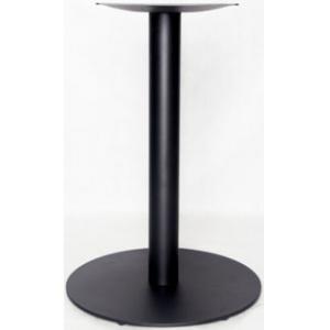 Подстолье металлическое регулируемое, черный шагрень, для столешницы 750х750мм