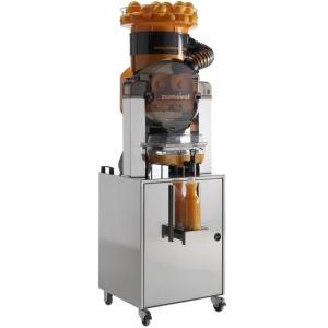 Соковыжималка для цитрусовых, электрическая, напольная, автоматическая, 45шт./мин, электронное управление, бункер, оранжевая, стенд с краном