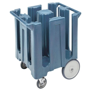 Тележка для посуды L 73см w 60,5см h 81,5см, пластик серо-голубой