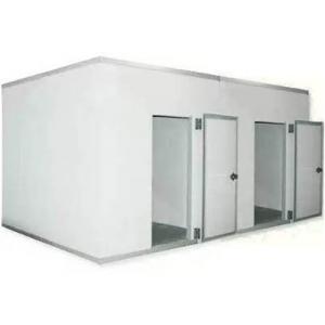 Камера комбинированная из строительных панелей,  16.60м3, h2.40м, 2 двери расп.правые, ППУ100мм