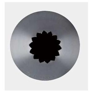 Насадка на кондитерский мешок ЗВЕЗДА D 0,7см h 4,8см, нерж.сталь