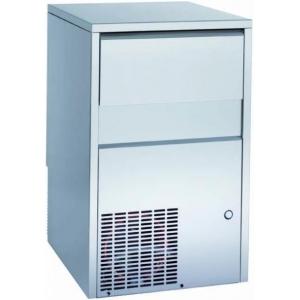 Льдогенератор для кускового льда, 50 кг/сут, бункер 25кг, вод.охл., куб. А