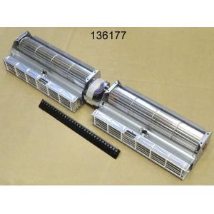 Вентилятор тангенциальный с обогревом 3кВт+3кВ и защитным термостатом