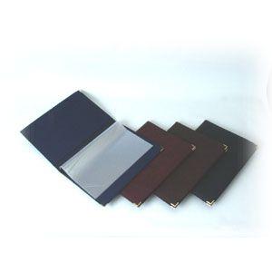 Папка (меню) L 32см w 22,5см бордо съемные файлы