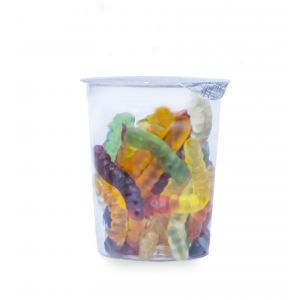 Мармелад жевательный «Haribo» «Червячки Вуммис», стакан, 110г
