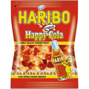 Мармелад жевательный «Весёлая Кола», пакет, 140г