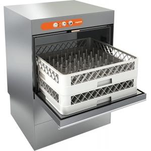 Машина посудомоечная фронтальная, 500х500мм, 60-20кор/ч, гор.вода, доз.опол.