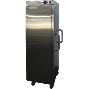 Шкаф тепловой, 10GN1/1, 1 дверь глухая, +30/+80С, нерж.сталь, колеса, электромех.упр., конвекция