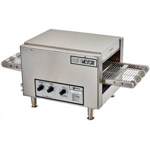 Печь для пиццы электрическая, конвейерная, 1 камера 364х430х38(76)мм, электромех.управление, нерж.сталь