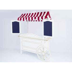 Тележка для аппарата сахарной ваты CВ 0101, цвет белый