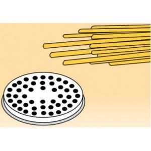 Матрица латунно-бронзовая для аппарата для макаронных изделий MPF 2.5N и MPF 4N (D57мм), bigoli (макароны полые), D3мм