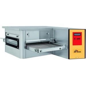 Печь для пиццы электрическая, конвейерная, 1 камера 400х540х100мм, электронное управление, нерж.сталь, без подставки