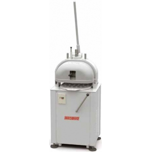 Тестоделитель-округлитель механический напольный, загрузка 1.1/4кг, 30 порций (40-135г), белый, 3 матрицы