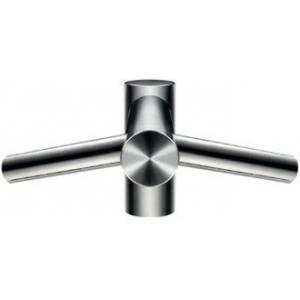 Сушилка для рук Dyson автоматическая, кран, HEPA H13, 14с, нерж.сталь, низкая
