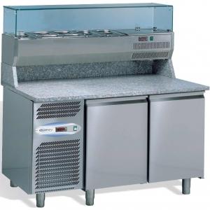 Стол холодильный для пиццы STUDIO 54 TEQUILA 1410X800 2P GN 1/4+TROPIC VERSION