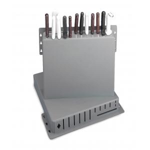 Подставка для ножей L 38см w 7,5см h 40,5см (12 ножей), пластик