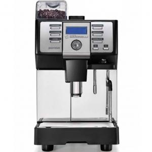 Кофемашина-суперавтомат, 1 группа, 1 кофемолка, черная, рус.яз., под.к водопр.