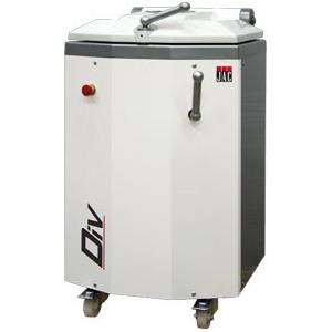 Тестоделитель полуавтоматический напольный, загрузка 18кг, 20 порций (100-900г), сталь окраш., колеса, гидравлический привод, квадратная форма