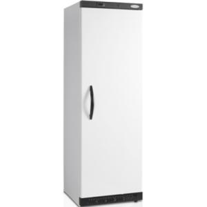 Шкаф морозильный,  400л, 1 дверь глухая, 6 полок, ножки+ролики, -10/-24С, стат.охл., белый, R600a