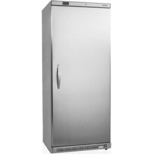 Шкаф морозильный, GN2/1,  605л, 1 дверь глухая, 6 полок, ножки+колеса, -10/-24С, стат.охл., нерж.сталь, R600a