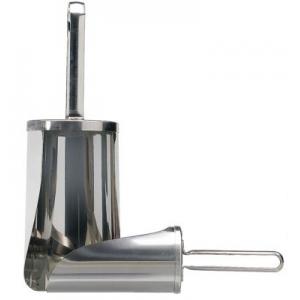 Совок 2,8л L 25см D 15,5см для сыпучих продуктов, нерж.сталь