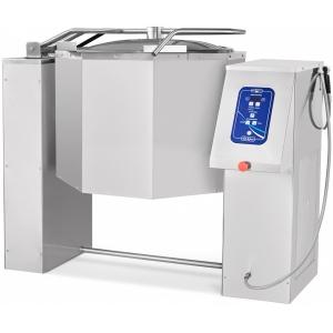 Котел пищеварочный электрический, опрокидывание автоматическое, 100л, нагрев косвенный, корпус нерж.сталь