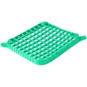 Коврик очищающий для овощерезки 57500-3, зеленый, 1/2», комплект 3шт.