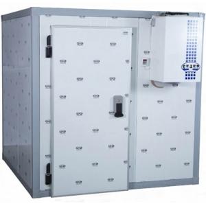 Камера морозильная замковая,  15.36м3, h2.20м, 1 дверь расп.левая, ППУ100мм, без порога